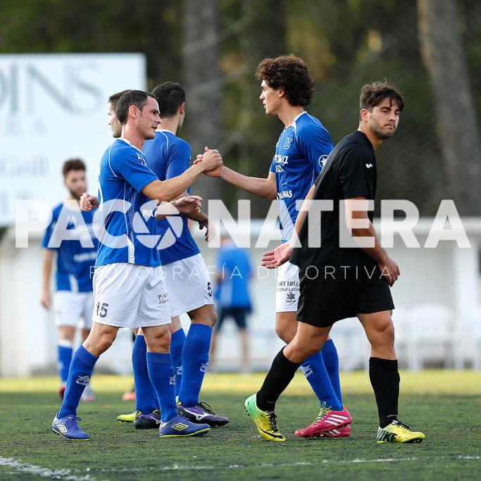 El equipo de Vicente Román firmó en Sa Pobla un buen partido.