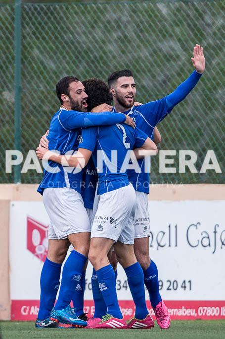 El conjunto de Vicente Román celebra un gol esta temporada.