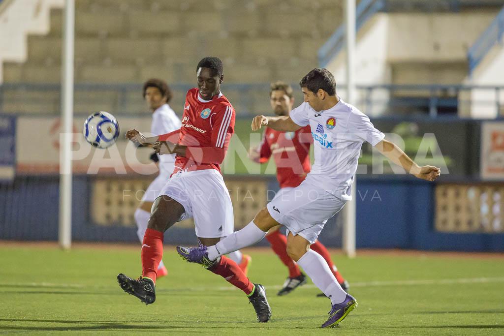 El jugador senegalés debutó ayer con la UD Ibiza.