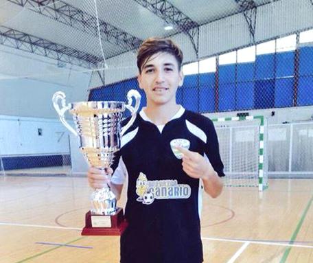 Abraham Cintado, nuevo jugador de la Peña FS.