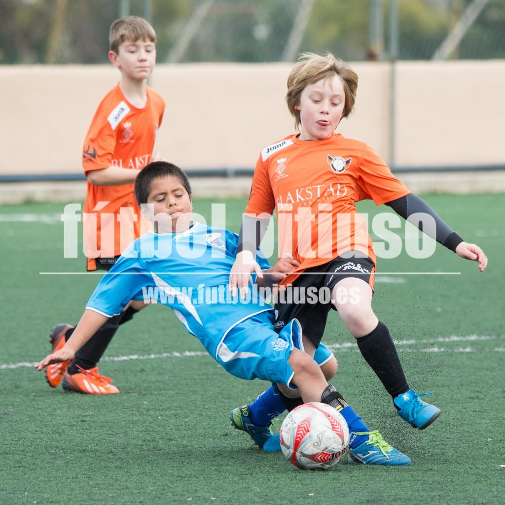 Un lance del partido que enfrentó al San Agustín y a la Peña Independiente (Fotos: Alejandro Iborra).
