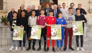Una imagen de la presentación de la segunda fase del Campeonato de España de Alcúdia.