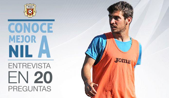 El delantero de la Peña Deportiva responde 20 preguntas.