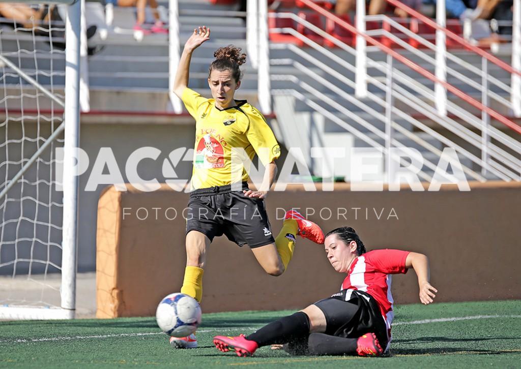 Imagen de un partido del Atlético Jesús femenino de la pasada temporada.