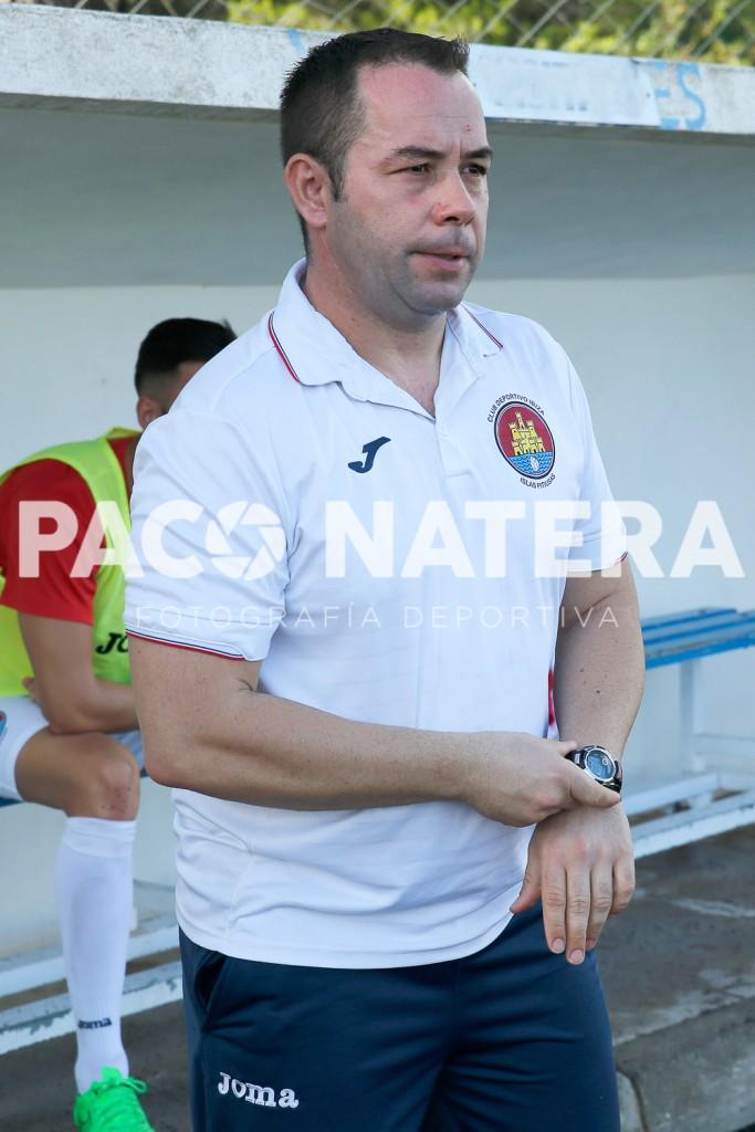 David Torres, entrenador del CD Ibiza.