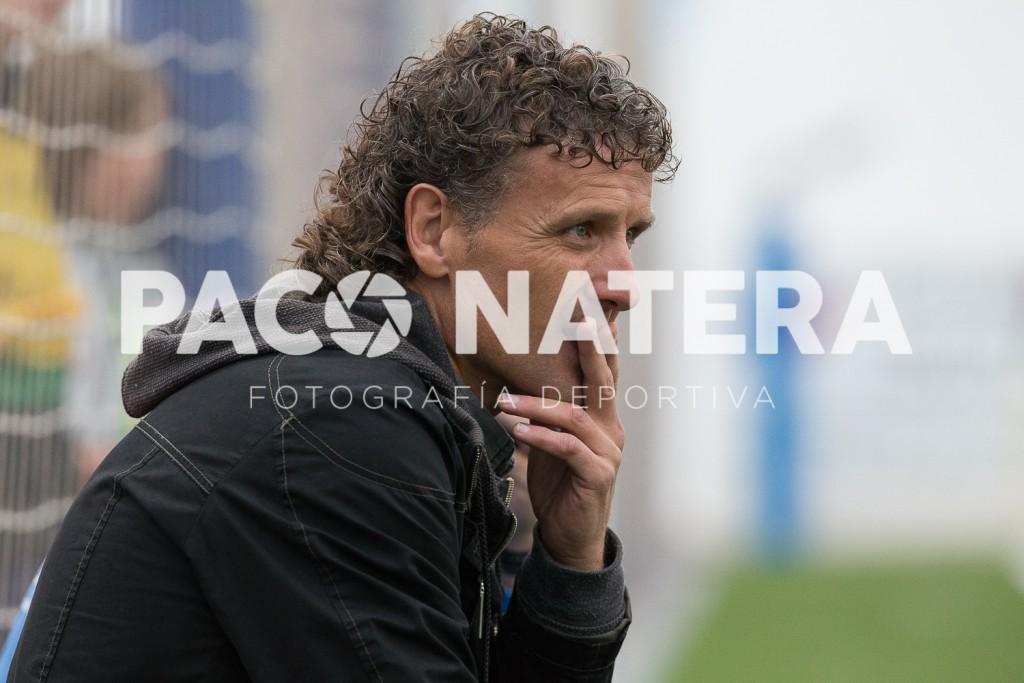El entrenador del Formentera está satisfecho con la actitud de sus jugadores.
