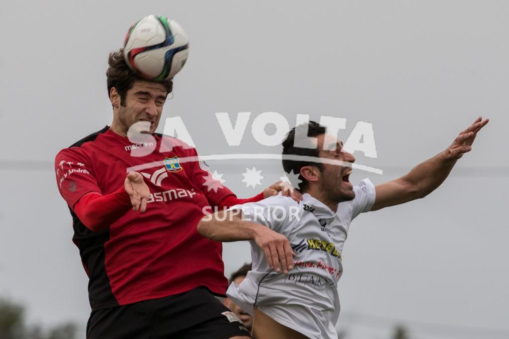 Un lance del partido disputado en Formentera.