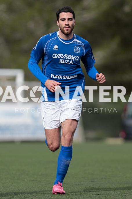 Juan Luque, el goleador del San Rafael.