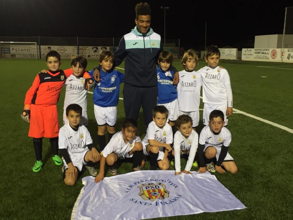 Los jugadores del prebenjamín de la Peña Deportiva viajarán este fin de semana a Madrid.
