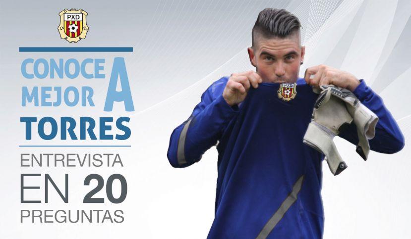 El portero de la Peña Deportiva Torres.