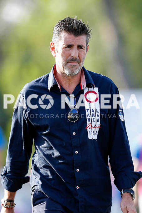 El entrenador del San Rafael está orgulloso de sus jugadores.