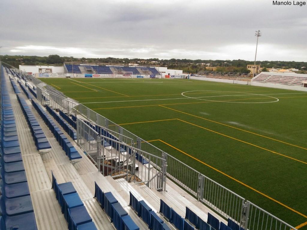 El campo de fútbol podrá acoger hasta 3000 espectadores.