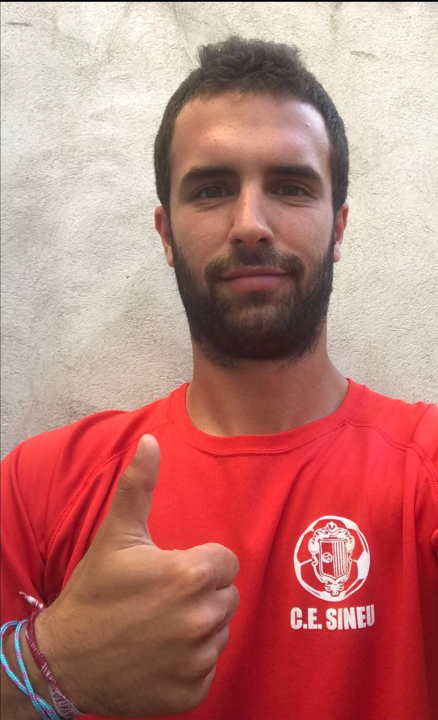 Pepe Roselló se ha perdido por motivos personales el play-off pero estará en la granda apoyando al Sineu.