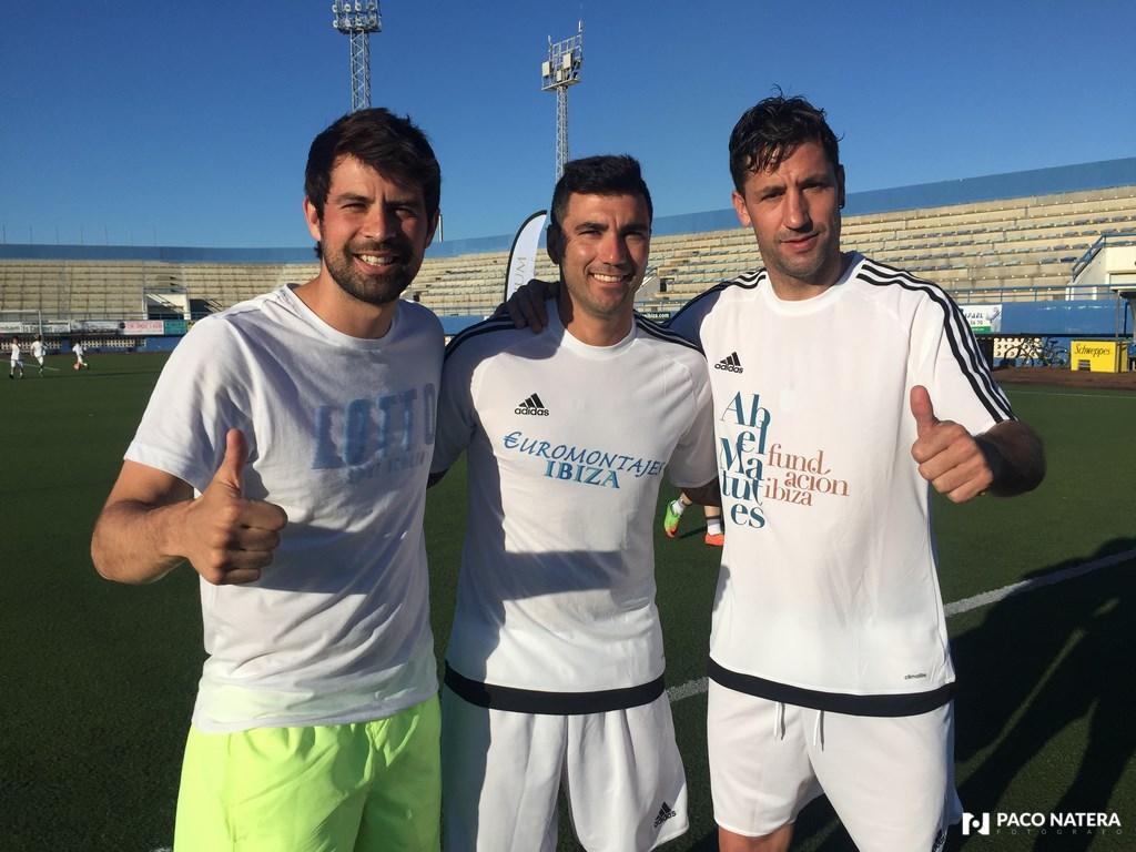 Coke, Reyes y Capdevila están encantados de participar en el campus del Rápid.