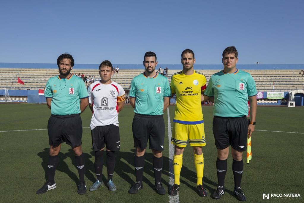 Campillos fue el árbitro del UD Ibiza VS Sineu de la pasada promoción de ascenso a Tercera División.