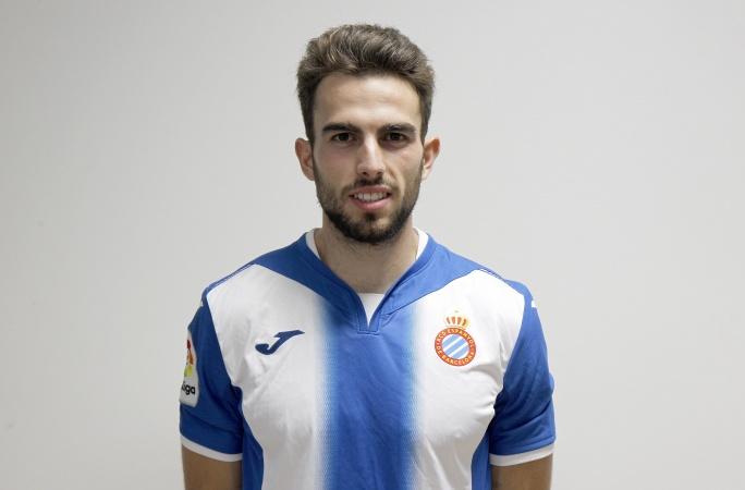 Guille Andrés es un delantero centro que ha jugado, entre otros, en el Espanyol B.