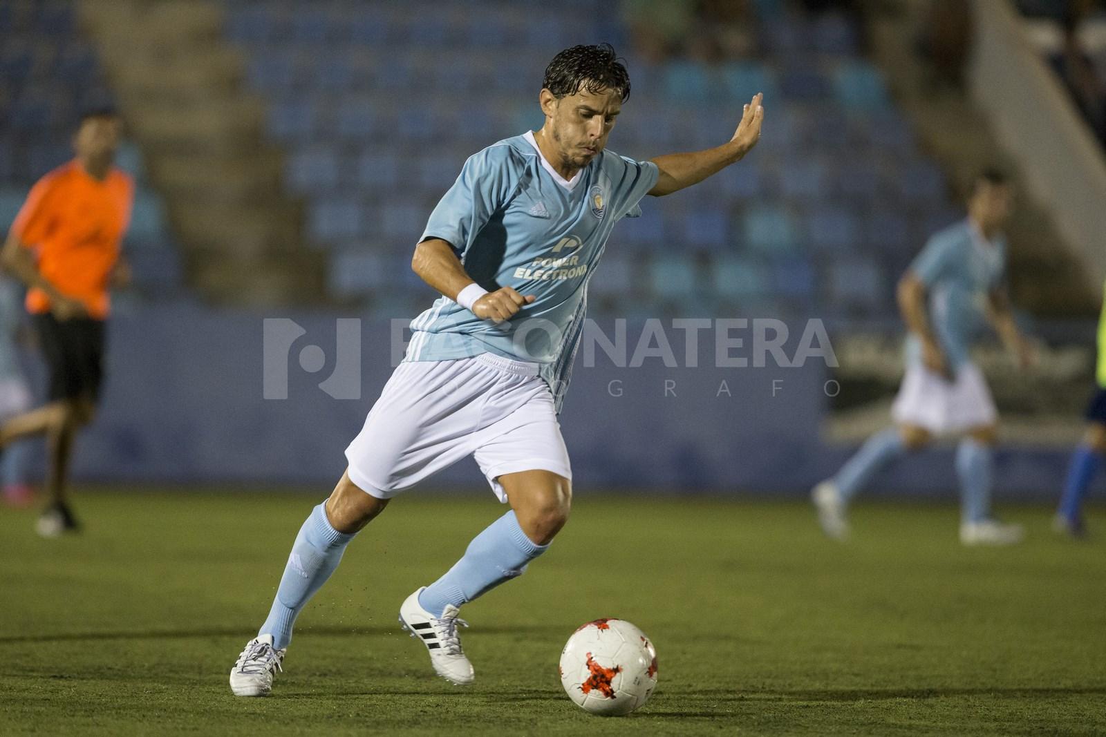 Gámiz fue el autor del gol del Ibiza.