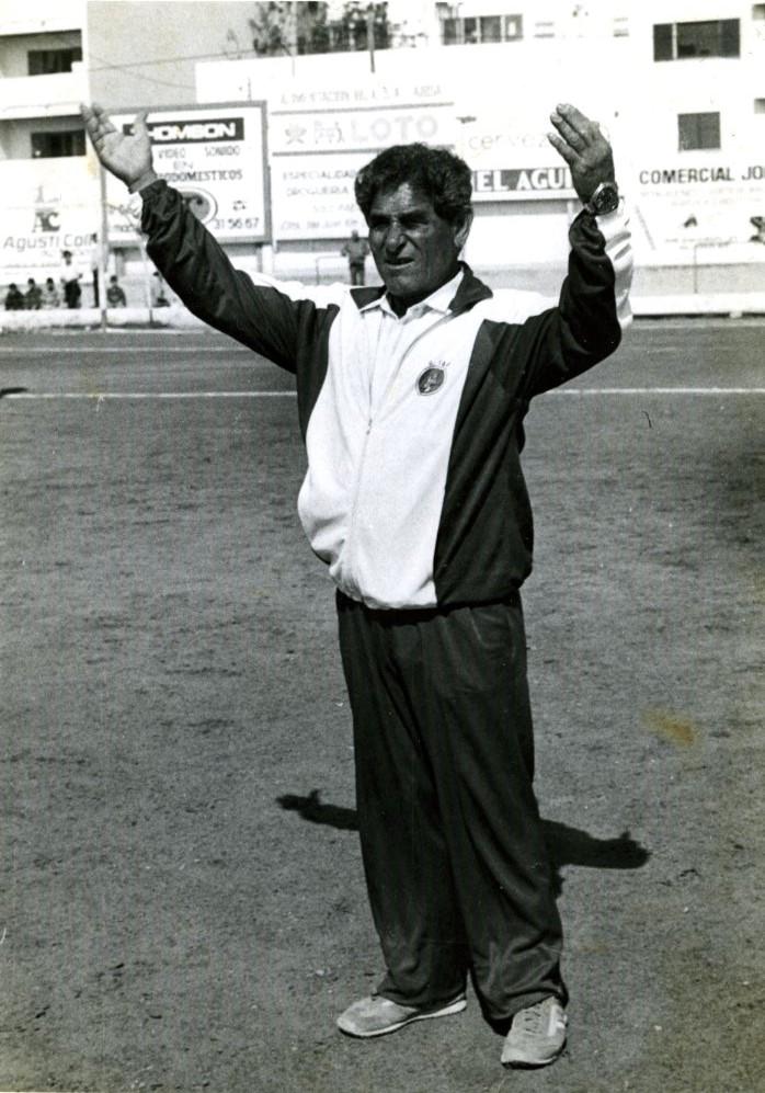 Alejo fue y es una persona muy querida en el mundillo del fútbol de Ibiza.